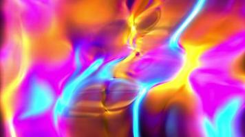Abstract Psychedelic Colors Background
