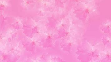 Romantic Flowering Pink Blossoms Background