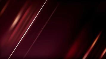 luz roja brillante y brillante sobre fondo negro