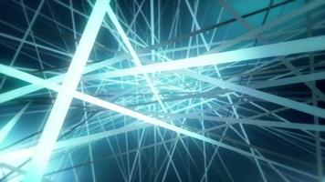 Fondo de líneas de intersección 3d abstracto