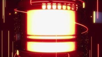 Fondo de cilindro de fuego abstracto