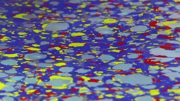 pinturas de água coloridas abstratas video