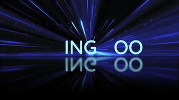 trailer de filme de ficção científica em breve revelação de texto