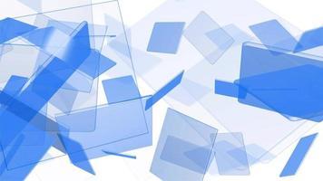 rectangles désordonnés abstraits