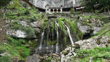 timelapse st. Beatus Cave, Svizzera video