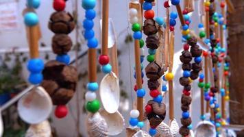 abalorios de colores ornamentales para la celebración