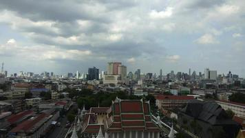 skyline di bangkok, thailandia video