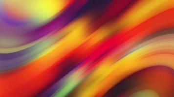 Abstract Multicolored Lights Wave Stripes Background
