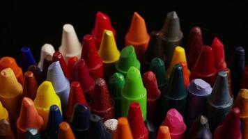 tiro giratório de giz de cera colorido para desenho e artesanato - giz de cera 009