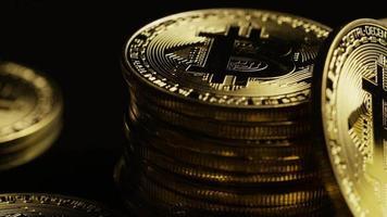 Tir rotatif de bitcoins (crypto-monnaie numérique) - bitcoin 0110