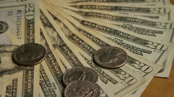foto rotativa de dinheiro americano (moeda) - dinheiro 585