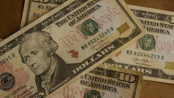 foto rotativa de dinheiro americano (moeda) - dinheiro 511