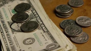 foto rotativa de dinheiro americano (moeda) - dinheiro 548