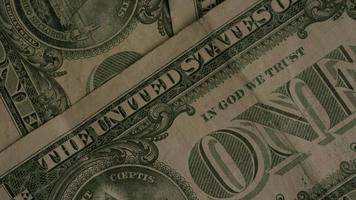 Disparo giratorio de dinero americano (moneda) - dinero 463
