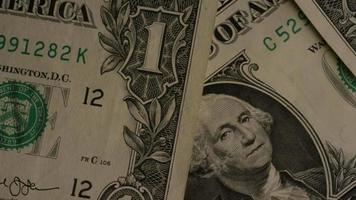 Disparo giratorio de dinero americano (moneda) - dinero 467