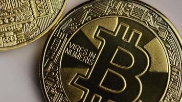 colpo rotante di bitcoin (criptovaluta digitale) - bitcoin 0342