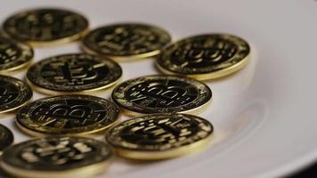 colpo rotante di bitcoin (criptovaluta digitale) - bitcoin 0274