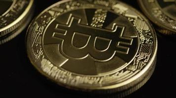 tiro giratório de bitcoins (criptomoeda digital) - bitcoin 0477 video