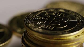 tiro giratório de bitcoins (criptomoeda digital) - bitcoin 0453 video
