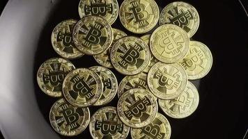 tiro giratório de bitcoins (criptomoeda digital) - bitcoin 0529 video