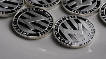 Disparo giratorio de litecoin bitcoins (criptomoneda digital) - bitcoin litecoin 0095