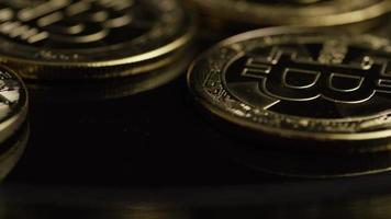 tiro giratório de bitcoins (criptomoeda digital) - bitcoin 0486 video