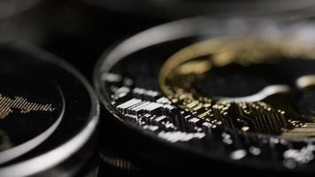 Tir tournant de bitcoins (crypto-monnaie numérique) - ondulation bitcoin 0176 video