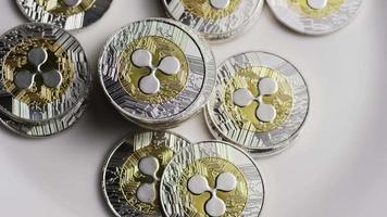 Tir rotatif de bitcoins (crypto-monnaie numérique) - ondulation bitcoin 0063