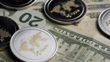 colpo rotante di bitcoin (criptovaluta digitale) - ripple bitcoin 0273
