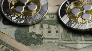 tiro giratório de bitcoins (criptomoeda digital) - ondulação de bitcoin 0239