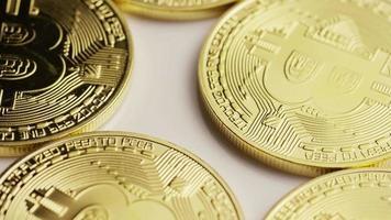 tiro giratório de bitcoins (criptomoeda digital) - bitcoin 0128