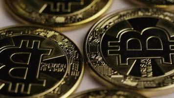 colpo rotante di bitcoin (criptovaluta digitale) - bitcoin 0265