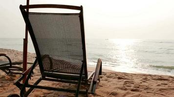 Chair on The Tropical Beach
