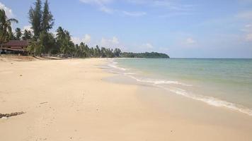 White Sand Beach and Blue Sky , Thailand video