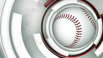 sfondo tecnica di baseball