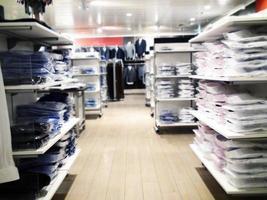 Inside Of Clothing Shop