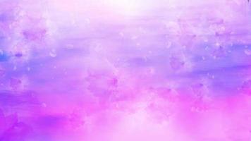 sfondo di fiori di pioggia rosa video