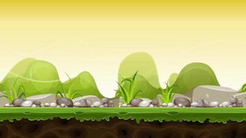 imágenes de paisaje de divertidos dibujos animados video