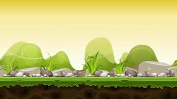 imágenes de paisaje de divertidos dibujos animados