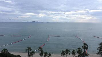 colpi lunghi della spiaggia di pataya video