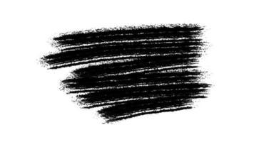 peinture brosse noire grunge video