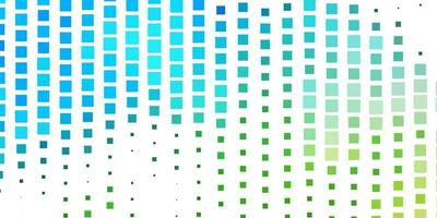 Light Blue, Green vector template in rectangles.