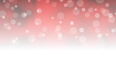 diseño de vector rojo oscuro con círculos.