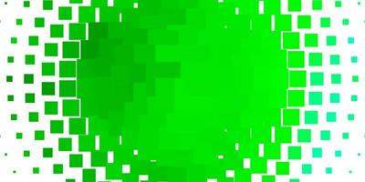 Light Green vector template in rectangles.
