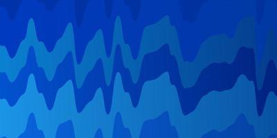 textura de vector azul claro con líneas torcidas.