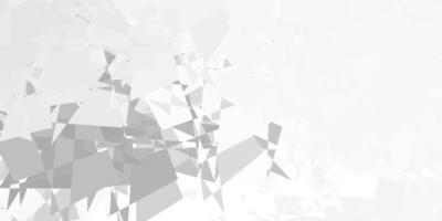 Plantilla de vector gris claro con formas abstractas