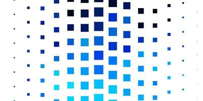 Light BLUE vector background with rectangles.