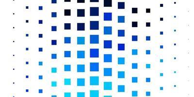 Fondo de vector azul claro con rectángulos.