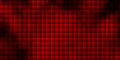 Dark Red vector background with rectangles.