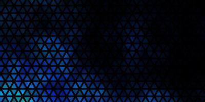 patrón de vector azul claro con estilo poligonal.